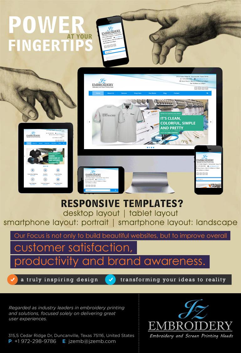 we do great responsive website designs